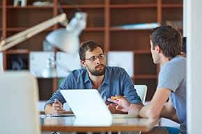 Bauherrenhaftpflichtversicherung - Beratungsgespräch