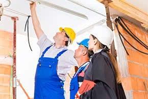 Bauherrenhaftpflichtversicherung - Baumängel begutachten