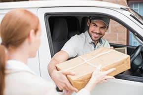Transportversicherung - Auslieferung eines Pakets