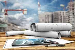 Haus und Grundbesitzerhaftpflichtversicherung - Baupläne und Berechnungen